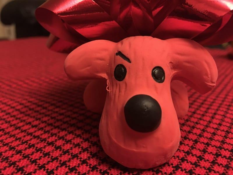 A dog toy