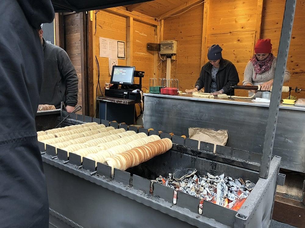 Schmeising closeup of bread in the Kartause Advent Market