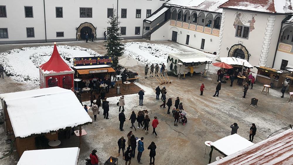 Schmeising at the Kartause advent market