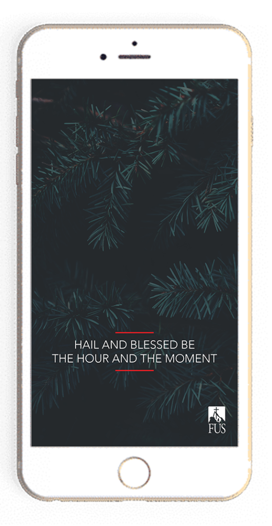 hail and blessed be the hour and the moment wallpaper